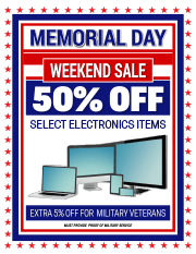marketing tools - Memorial Day Weekend Sale
