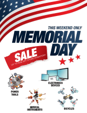 marketing tools - Memorial Day Sale