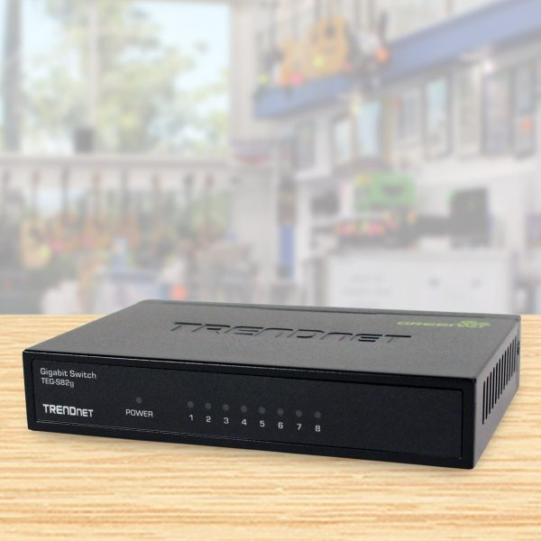 8-port gigabit switch